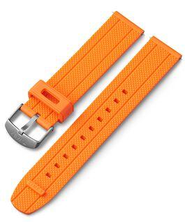Pasek silikonowy 20 mm z szybkozłączką Pomarańczowy large