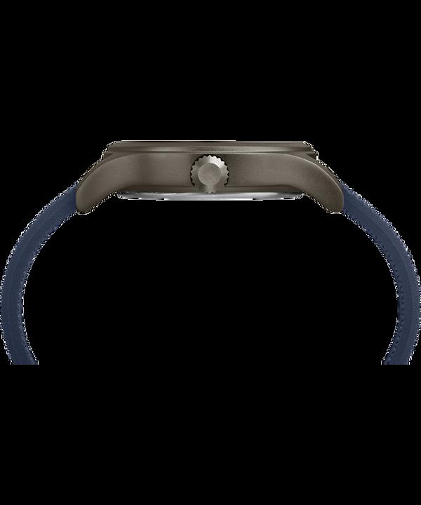 Zegarek Allied z kopertą 40 mm i silikonowym paskiem Gray/Blue large