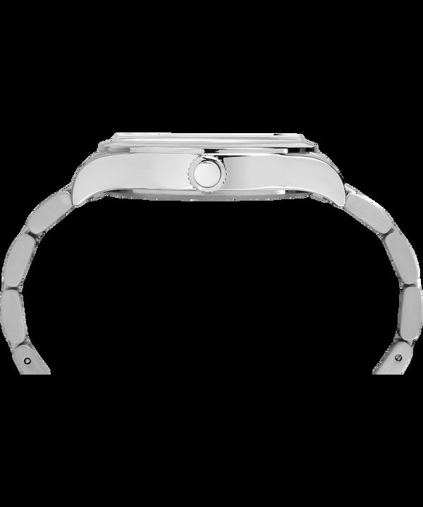 Zegarek Waterbury Traditional z kopertą 40 mm i stalową bransoletą Stainless-Steel/Black large