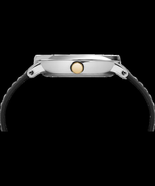 Zegarek Southview z kopertą 41 mm i skórzanym paskiem  Chromowany/Czarny/Biały/W kolorze złota large