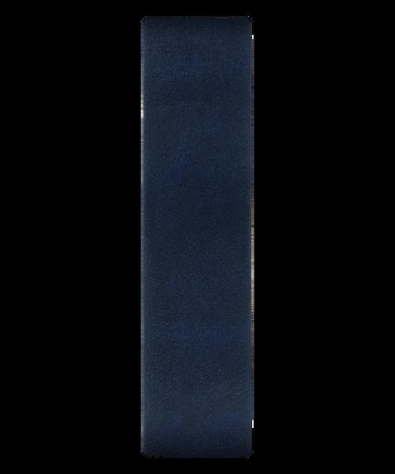 Niebieski skórzany przewlekany pasek  large