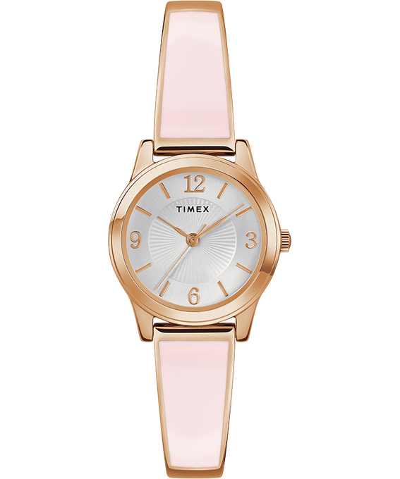 Elastyczna bransoleta 25 mm W kolorze różowego złota/W kolorze srebra large