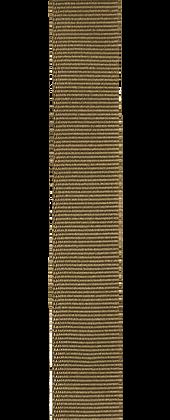 Przewlekany pasek z grogramu zainspirowany stylem wojskowym