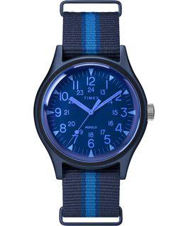 Zegarek MK1 California 40 mm z paskiem materiałowym Niebieski large