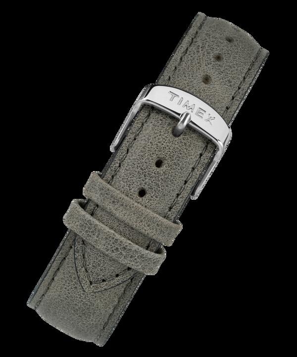 Skórzany pasek 20 mm z szybkozłączką Gray large