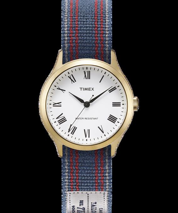 Zegarek Whitney Avenue z kopertą 36 mm i dwustronnym paskiem z grogramu W kolorze złota/Biały large