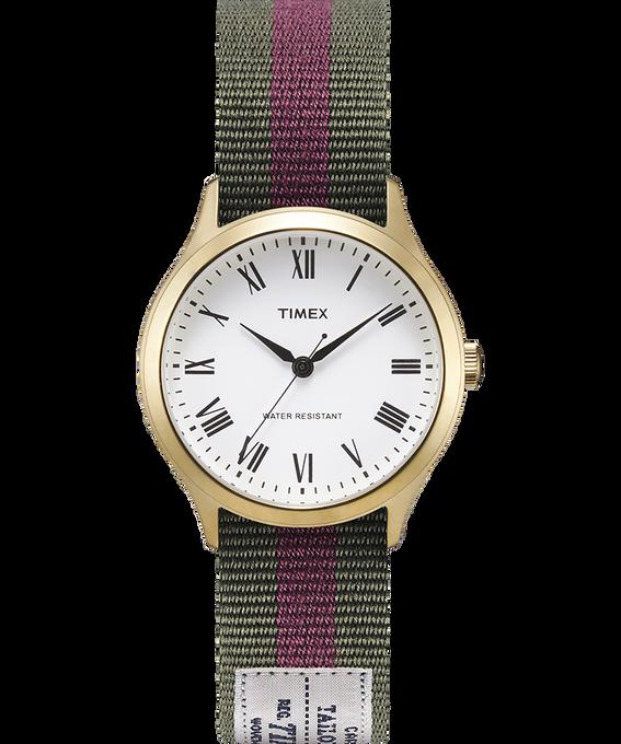 Zegarek Whitney Avenue z kopertą 36 mm i dwustronnym paskiem z grogramu-1 W kolorze złota/Biały large