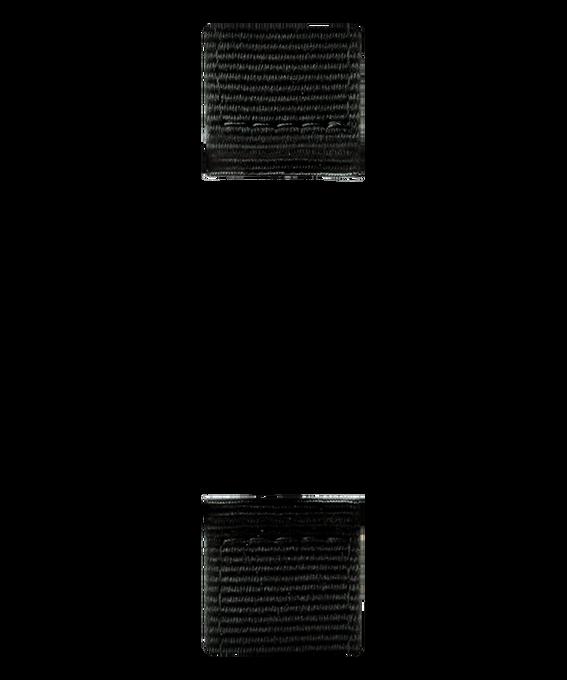 Dwuczęściowy czarny nylonowy pasek  large