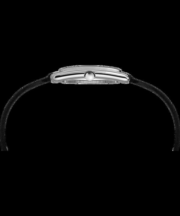 Zegarek Addison 25 mm z podwójnie oplatającym nadgarstek paskiem Chromowy/Czarny large