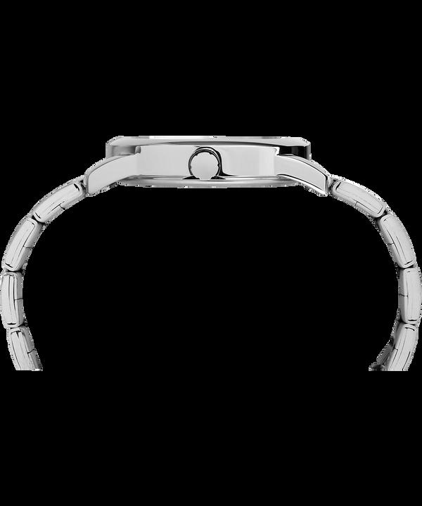 Zegarek Easy Reader z datownikiem, kopertą 38 mm i bransoletą Silver-Tone/Black large