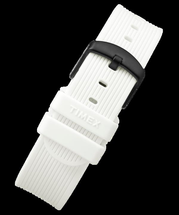 Silikonowy pasek 20 mm White large