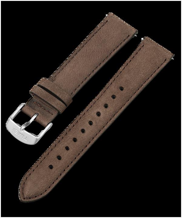 Skórzany pasek 20 mm z szybkozłączką Brown large