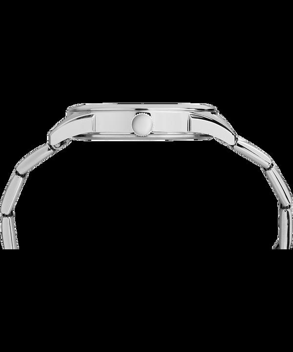 Zegarek Torrington 40 mm z bransoletą ze stali nierdzewnej i funkcją datownika Stal nierdzewna/Czarny large