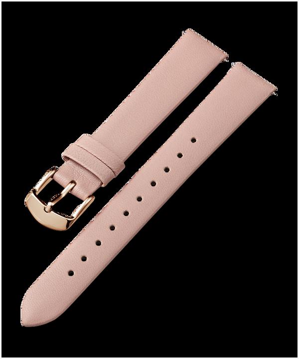 Pasek skórzany 16 mm Różowy large