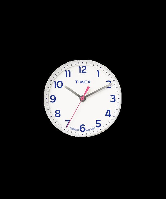 Biała tarcza / Różowa wskazówka sekundnika  large