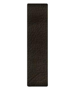 Ciemnobrązowy skórzany pasek przewlekany  large