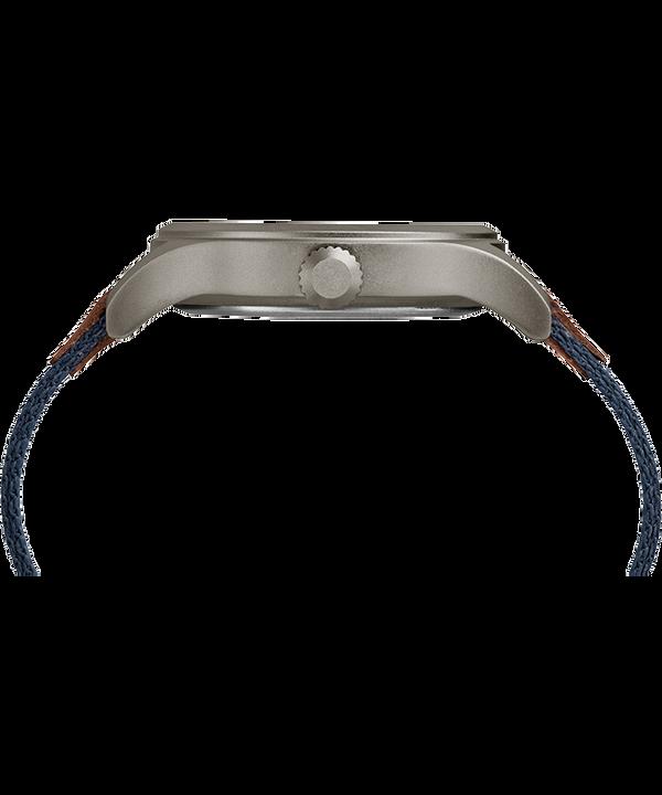 Zegarek Expedition Scout 40 mm z paskiem materiałowym Szary/Niebieski large