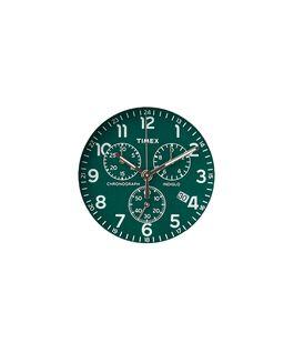Zielona tarcza / Wskazówka sekundnika w kolorze srebra  large
