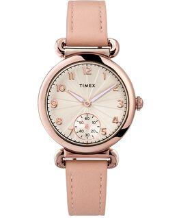Zegarek Model 23 33 mm z paskiem skórzanym Różowe złoto/Różowy/Srebrny large