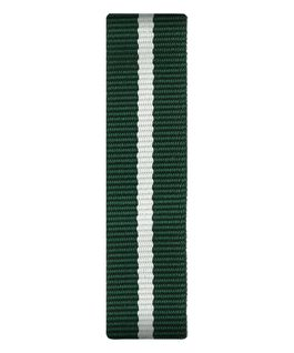 Zielono-biały nylonowy pasek przewlekany  large