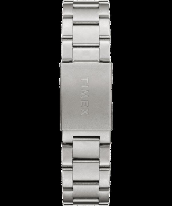 Zegarek Allied Chronograph z kopertą 42 mm i stalową bransoletą Srebrny/Stal nierdzewna/Czarny large