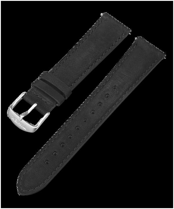 Skórzany pasek 20 mm z szybkozłączką Black large