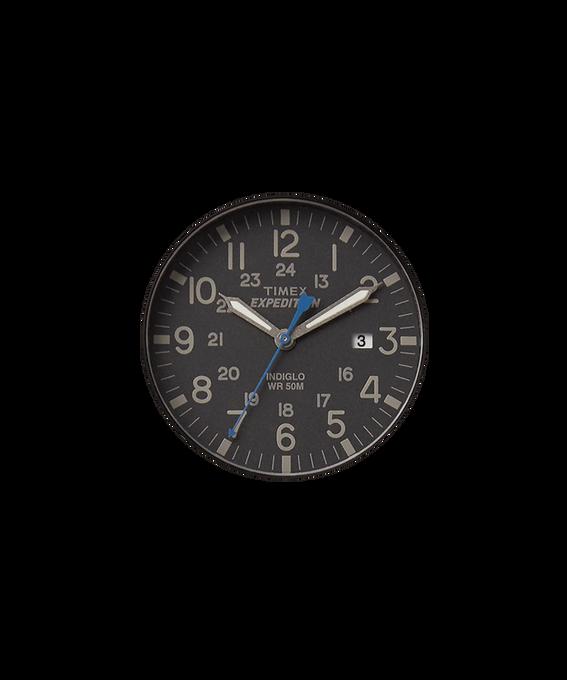 Czarny tarcza / Niebieska wskazówka sekundnika  large