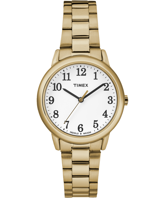 Easy Reader 30mm Stainless Steel Watch Gold-Tone/White large
