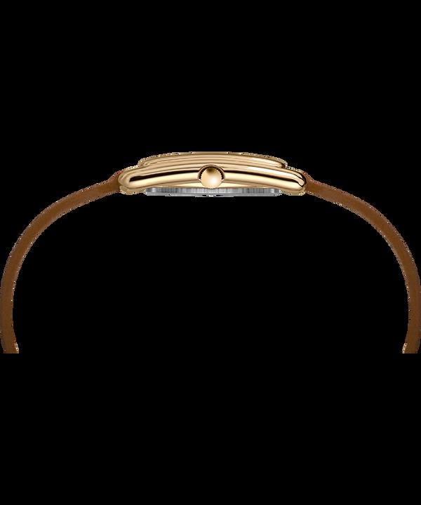Zegarek Addison 25 mm z podwójnie oplatającym nadgarstek paskiem W kolorze złota/Brązowy/W kolorze srebra large