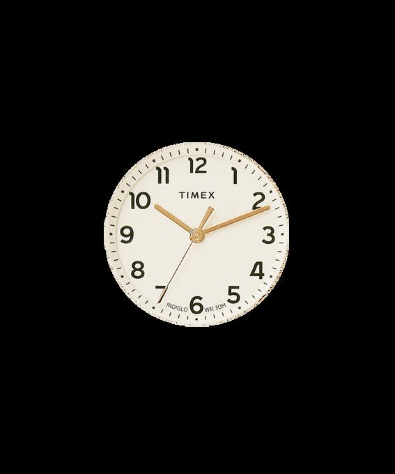 Kremowa tarcza / Wskazówka sekundnika w kolorze złota  large