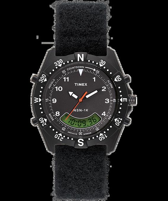 NSN 1K 39mm Fabric Strap Watch Black large