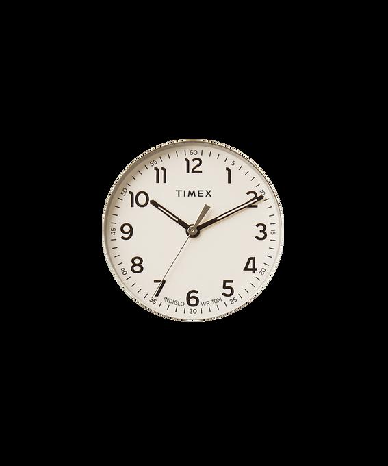 Kremowa tarcza / Wskazówka sekundnika w kolorze srebra  large