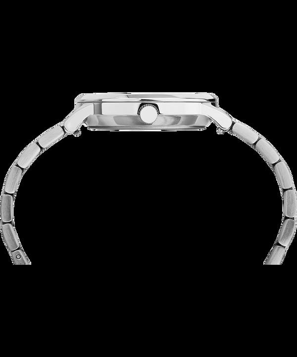 Zegarek Waterbury Classic z kopertą 36 mm i stalowym paskiem Stainless-Steel/White large