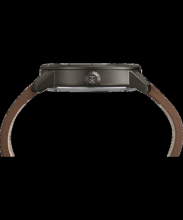 Zegarek Mod44 z kopertą 44 mm i skórzanym paskiem  Black/Brown large