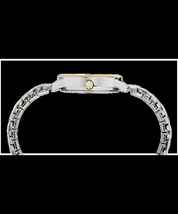 Zegarek Easy Reader z kopertą 30 mm i elastyczną bransoletą Chrome/Two-Tone/White large