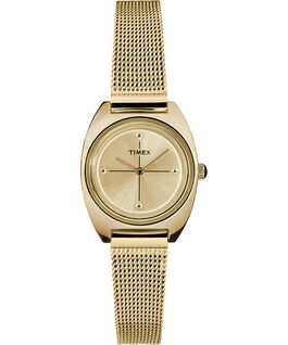 Zegarek Milano Petite z kopertą 24 mm i siatkową bransoletą Złoty large