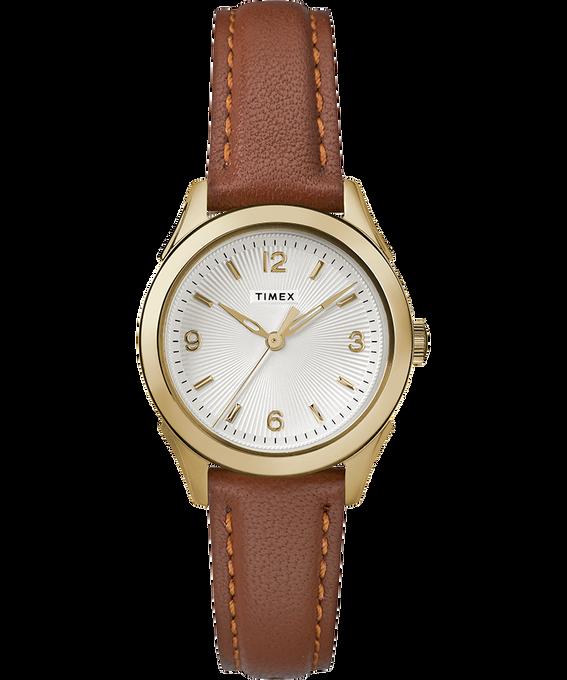 Damski zegarek Torrington z 3 wskazówkami, kopertą 27 mm i skórzanym paskiem W kolorze złota/Brązowy/W kolorze srebra large