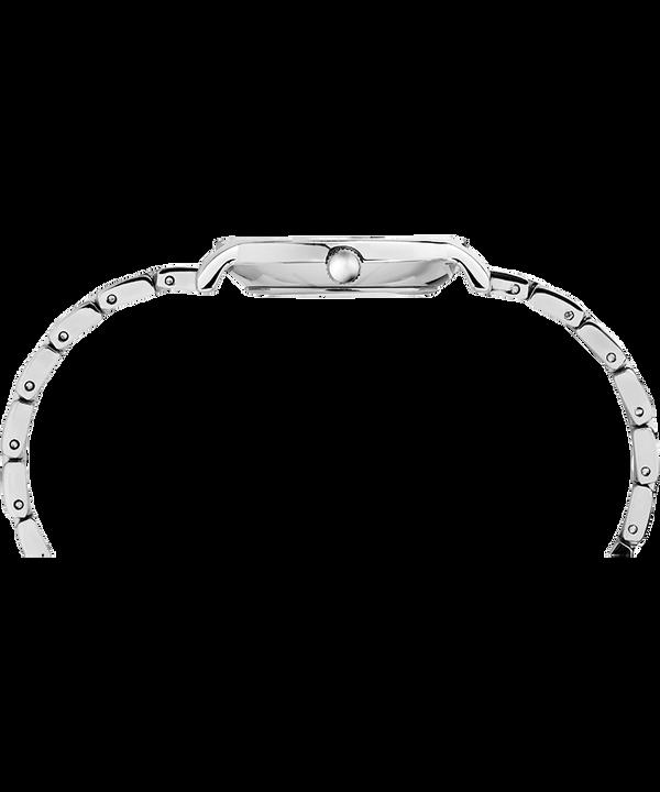 Zegarek Milano Oval z kopertą 24 mm i bransoletą ze stali nierdzewnej Srebrny/Stal nierdzewna large