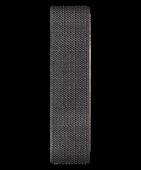 Szary płócienny przewlekany pasek  large
