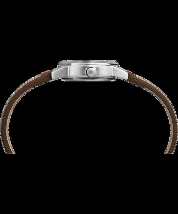 Zegarek Expedition Field Mini z kopertą 26 mm i skórzanym paskiem Chromowanyowany/Jasnobrązowy/Naturalny large