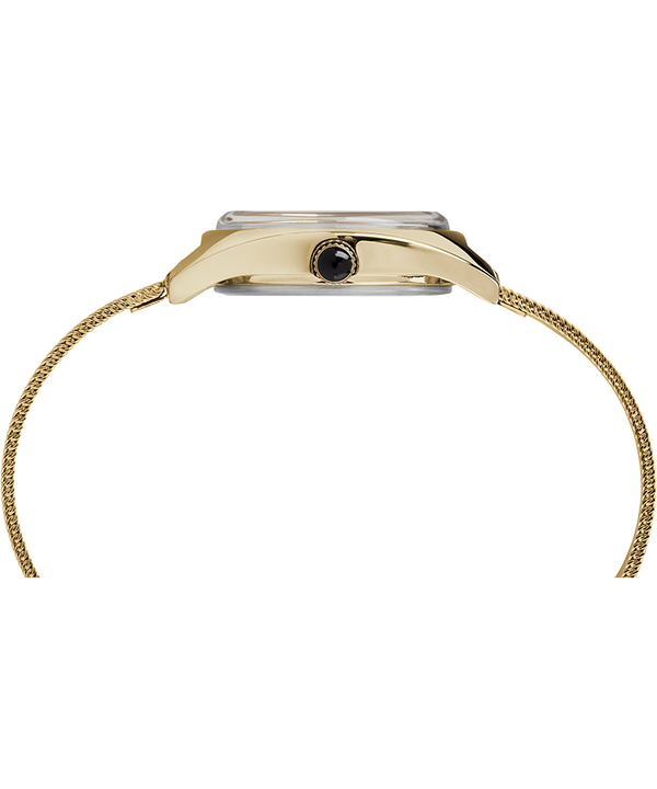 Zegarek Milano Petite z kopertą 24 mm i siatkową bransoletą ze stali nierdzewnej Złoty large