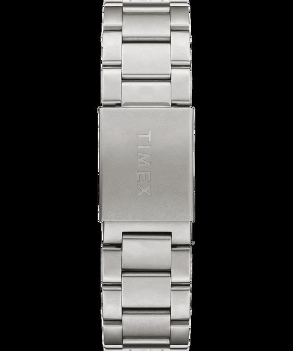 Zegarek Allied z kopertą 40 mm i regulowaną stalową bransoletą W kolorze srebra/Stal nierdzewna/Zielony large