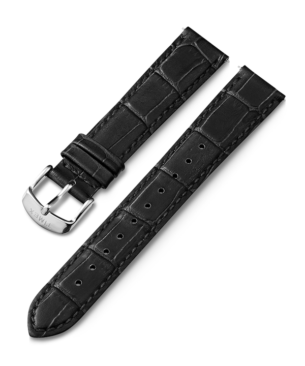 16mm Leather Strap Czarny large