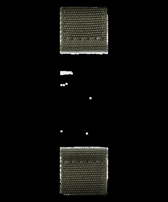 Oliwkowozielony nylonowy pasek dwuczęściowy  large