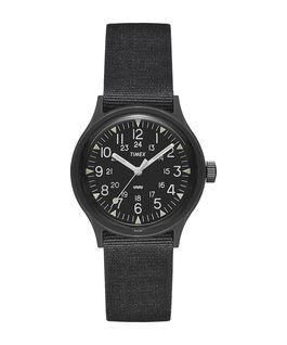 Zegarek MK1 z kopertą 36 mm i paskiem materiałowym  large