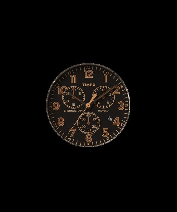 Czarna tarcza / Jasnobrązowa wskazówka sekundnika  large