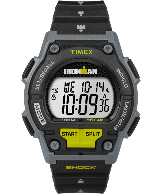 IRONMAN Shock 30 Lap 42mm Resin Strap Watch