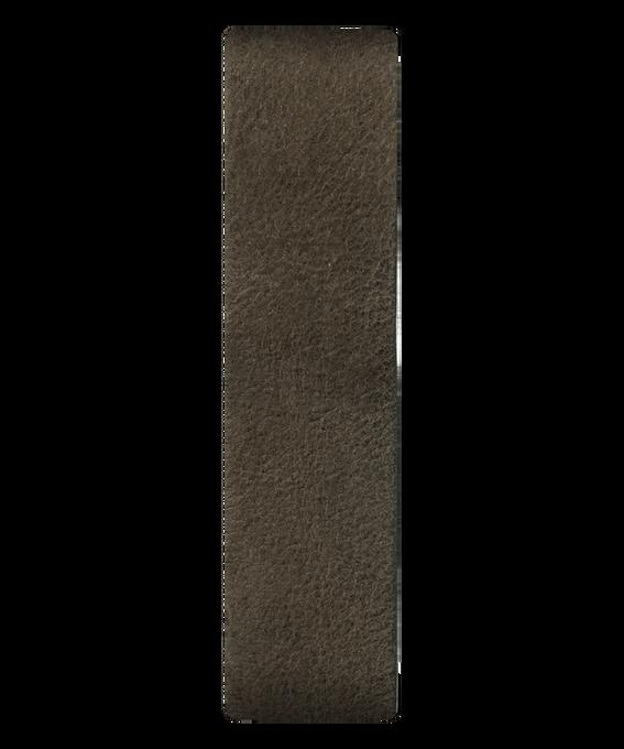 Oliwkowy skórzany przewlekany pasek  large