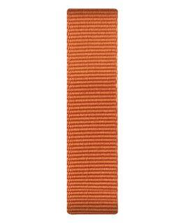 Pomarańczowy nylonowy przewlekany pasek  large