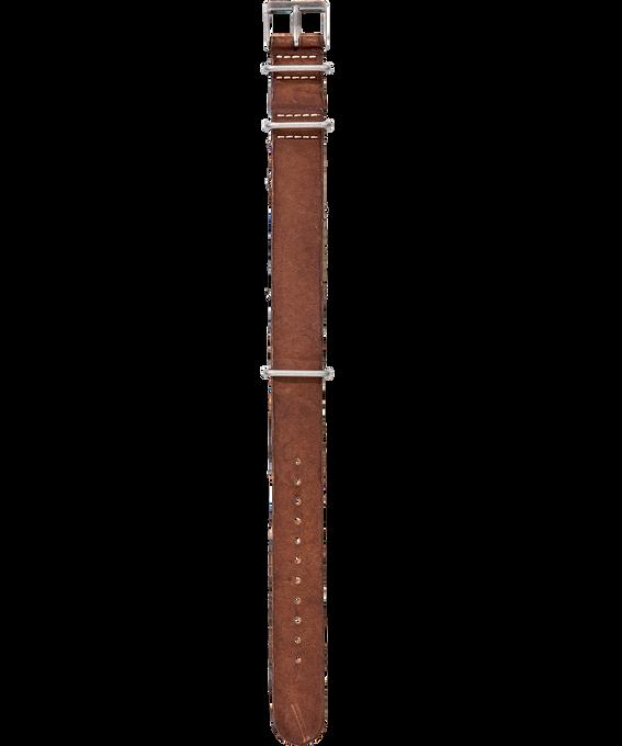 Dekatyzowany skórzany przewlekany pasek  large